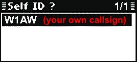 ICF8101_Display_Self_ID