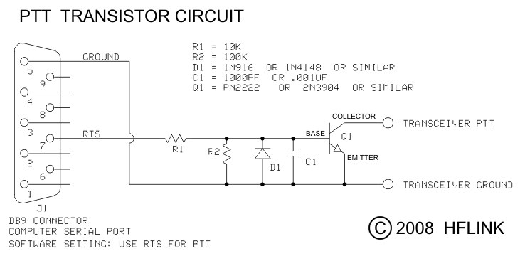 PTT Circuit with Single Transistor