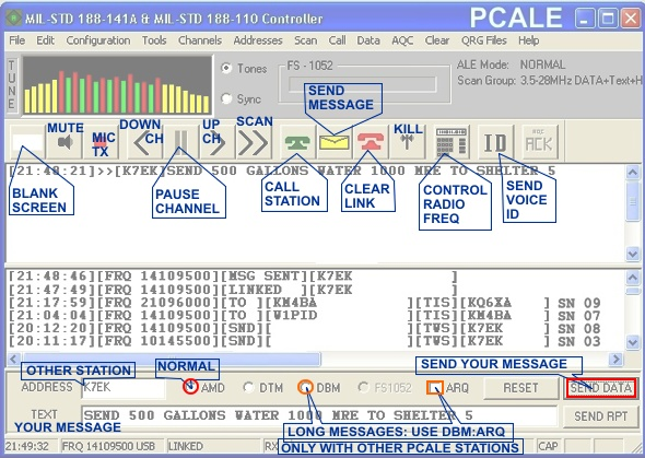 CLICK HERE for PCALE Configuration Set Up Information